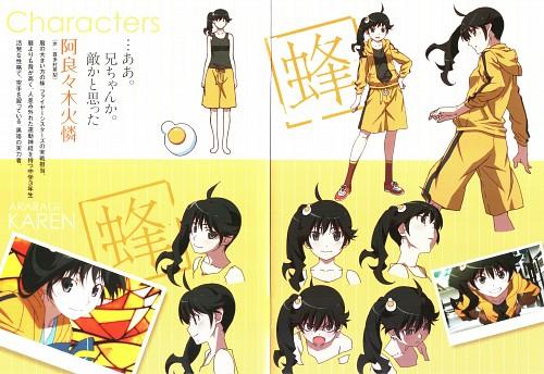 Shaft (Studio), Bakemonogatari, Karen Araragi, Character Sheet