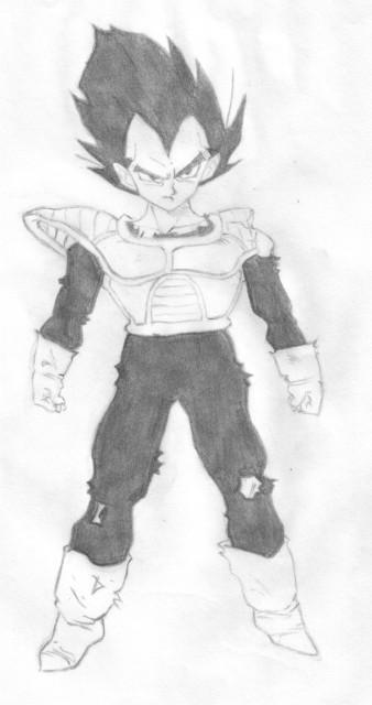 Akira Toriyama, Dragon Ball, Vegeta, Member Art