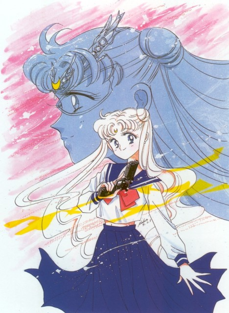 Naoko Takeuchi, Bishoujo Senshi Sailor Moon, BSSM Original Picture Collection Vol. I, Usagi Tsukino, Sailor Moon