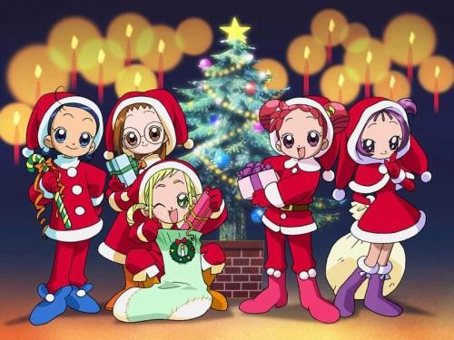 Toei Animation, Ojamajo DoReMi, Onpu Segawa, Aiko Senoo, Hazuki Fujiwara Wallpaper