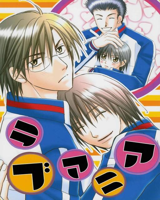 Prince of Tennis, Takeshi Momoshiro, Ryoma Echizen, Shusuke Fuji, Kunimitsu Tezuka