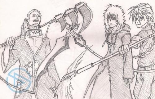 Masashi Kishimoto, Square Enix, Sunrise (Studio), Studio Pierrot, Mobile Suit Gundam Wing