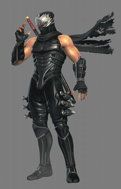 Tecmo, Dead or Alive, Ryu Hayabusa, Official Digital Art