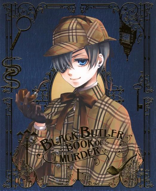 Yana Toboso, A-1 Pictures, Kuroshitsuji, Ciel Phantomhive, DVD Cover