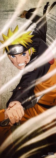 Studio Pierrot, Naruto, Naruto Uzumaki, Stick Poster