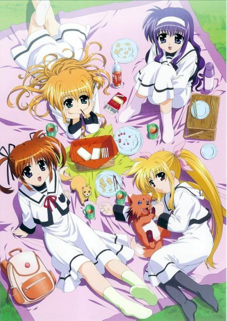 Mahou Shoujo Lyrical Nanoha, Mahou Shoujo Lyrical Nanoha Visual Collection, Suzuka Tsukimura, Alisa Bannings, Nanoha Takamachi