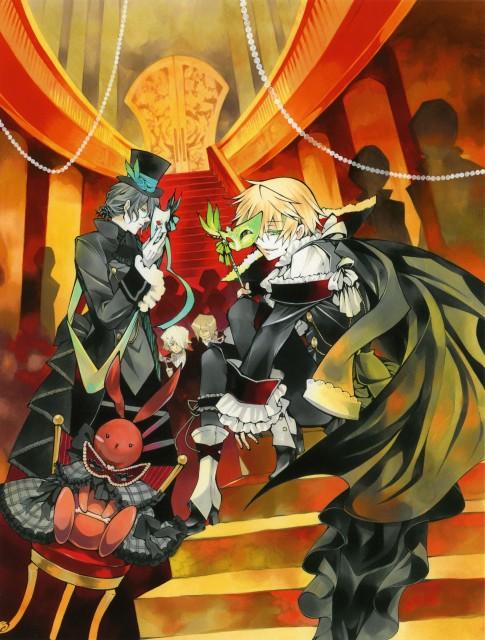 Jun Mochizuki, Xebec, Pandora Hearts, Pandora Hearts ~odds and ends~, Oz Vessalius