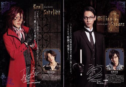 Kuroshitsuji, William T. Spears, Grell Sutcliff, Live Action