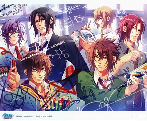 Yone Kazuki, Idea Factory, Hakuouki Sweet School Life, Toshizou Hijikata (Hakuouki), Souji Okita (Hakuouki)