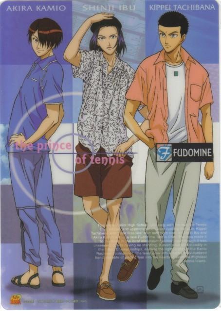 Takeshi Konomi, J.C. Staff, Prince of Tennis, Akira Kamio, Shinji Ibu