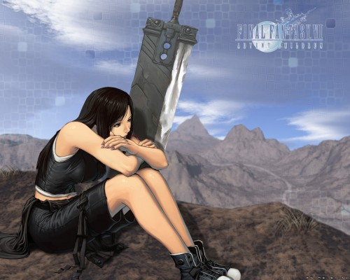 Square Enix, Final Fantasy VII: Advent Children, Final Fantasy VII, Tifa Lockhart Wallpaper