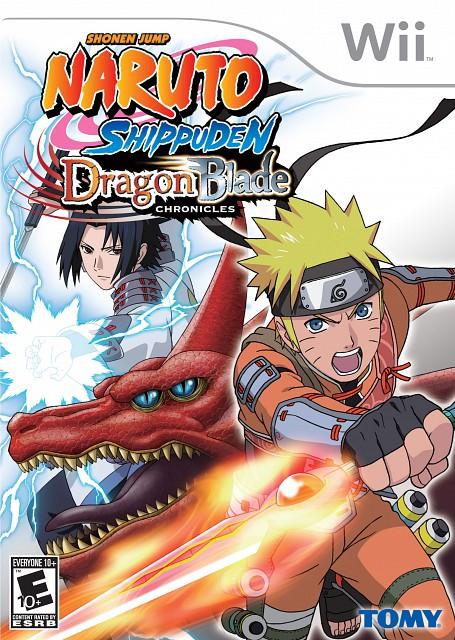 Studio Pierrot, Naruto, Naruto Uzumaki, Sasuke Uchiha, Video Game Cover