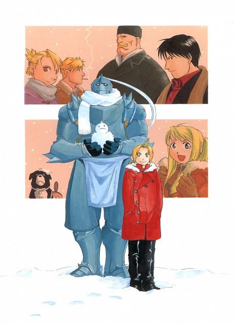 Hiromu Arakawa, Fullmetal Alchemist, Fullmetal Alchemist Artbook Vol. 1, Winry Rockbell, Alex Louis Armstrong