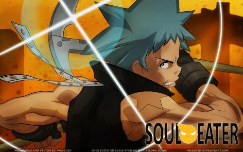 Atsushi Okubo, BONES, Soul Eater, Black Star Wallpaper