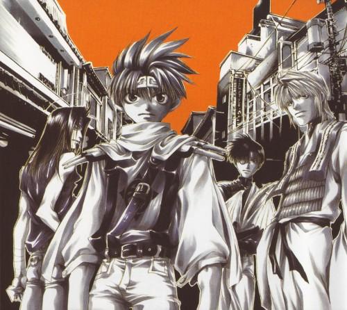 Kazuya Minekura, Studio Pierrot, Saiyuki, Backgammon 2, Sha Gojyo