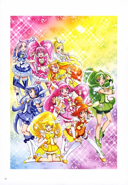Futago Kamikita, Smile Precure!, Suite Precure, Futago Kamikita All Precure Illustration Collection, Cure Muse