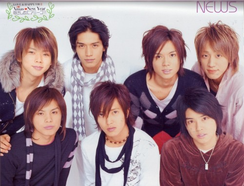 Keiichiro Koyama, Hironori Kusano, Shigeaki Kato, NEWS, Yuya Tegoshi