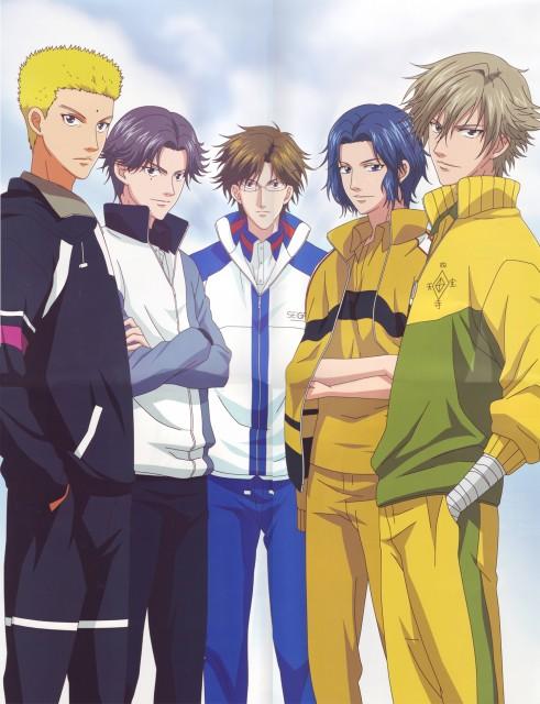Takeshi Konomi, J.C. Staff, Prince of Tennis, Kunimitsu Tezuka, Kippei Tachibana