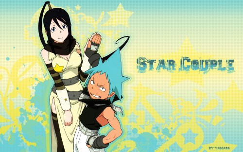Soul Eater, Tsubaki Nakatsukasa, Black Star, Vector Art Wallpaper