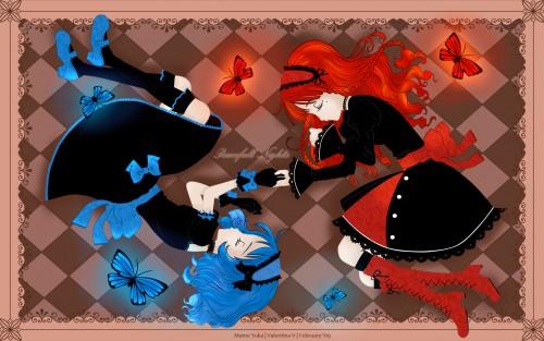 Mame Yuka, Vector Art Wallpaper