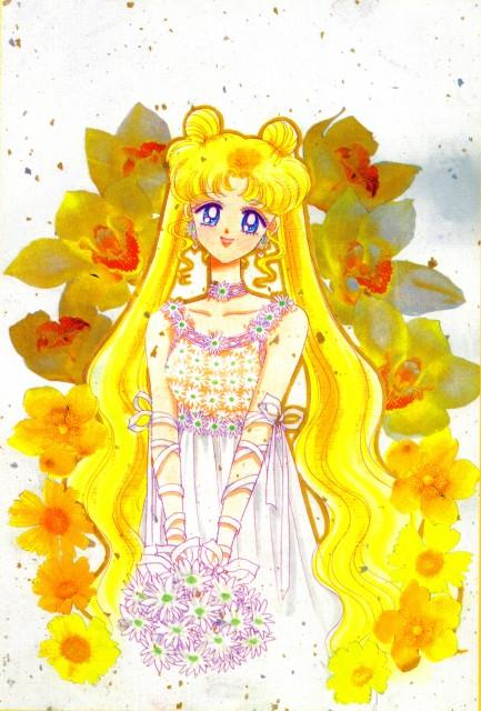 Naoko Takeuchi, Bishoujo Senshi Sailor Moon, BSSM Original Picture Collection Vol. V, Usagi Tsukino