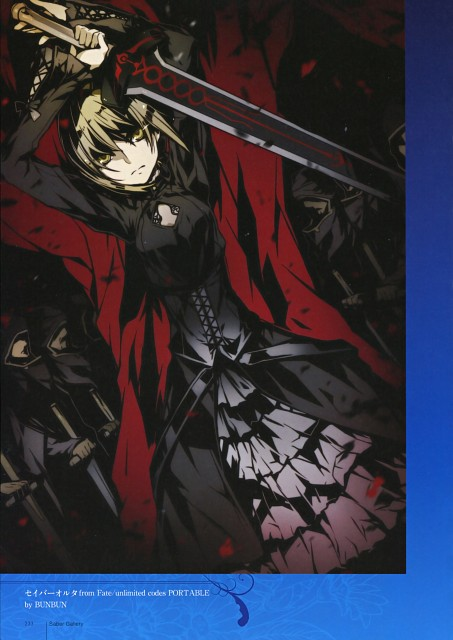 BUNBUN, TYPE-MOON, TYPE-MOON 10th Anniversary Phantasm, Fate/Hollow ataraxia, Saber Alter