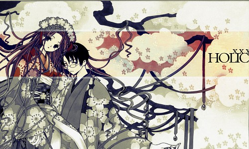 CLAMP, Production I.G, xxxHOLiC, Kohane Tsuyuri, Kimihiro Watanuki Wallpaper