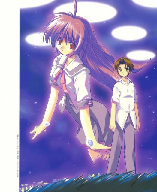 E-ji Komatsu, ASCII Media Works, Iriya no Sora UFO no Natsu, Naoyuki Asaba, Iriya Kana