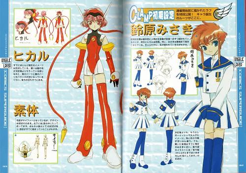 CLAMP, Angelic Layer, Hikaru (Angelic Layer), Misaki Suzuhara, Character Sheet