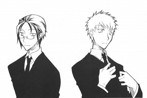 Bleach, Ichigo Kurosaki, Uryuu Ishida, Doujinshi