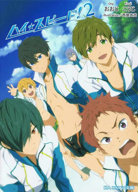 Futoshi Nishiya, Kyoto Animation, Free!, Nagisa Hazuki, Asahi Shiina
