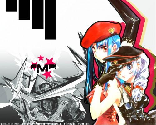 Full Metal Panic!, Kaname Chidori, Teletha Testarossa Wallpaper