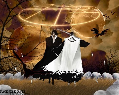 Kubo Tite, Studio Pierrot, Bleach, Kenpachi Zaraki, Zangetsu Wallpaper