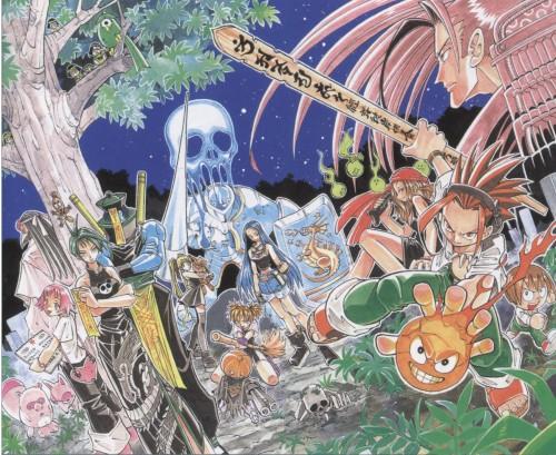 Hiroyuki Takei, Xebec, Shaman King, Anna Kyouyama, Lee Bailong