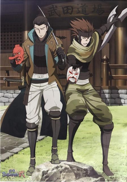 Makoto Tsuchibayashi, Capcom, Production I.G, Sengoku Basara, Sasuke Sarutobi