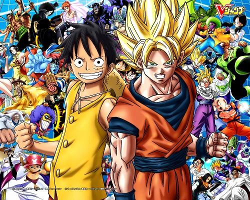 One Piece, Dragon Ball, Boa Hancock, Jinbei, Nami