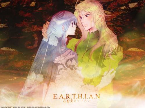 Yun Kouga, Earthian, Chihaya, Kagetsuya Wallpaper
