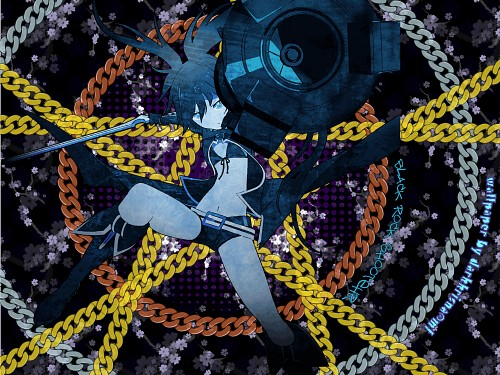 Black Rock Shooter, Black Rock Shooter (Character), Vector Art Wallpaper
