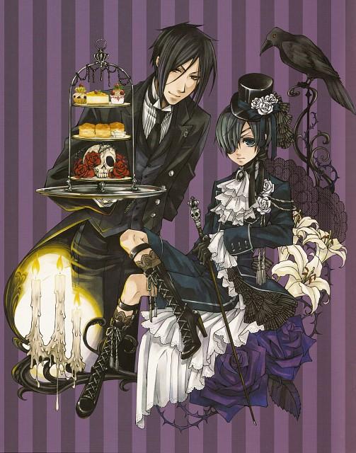 Yana Toboso, Kuroshitsuji, Black Butler Artworks 2, Ciel Phantomhive, Sebastian Michaelis