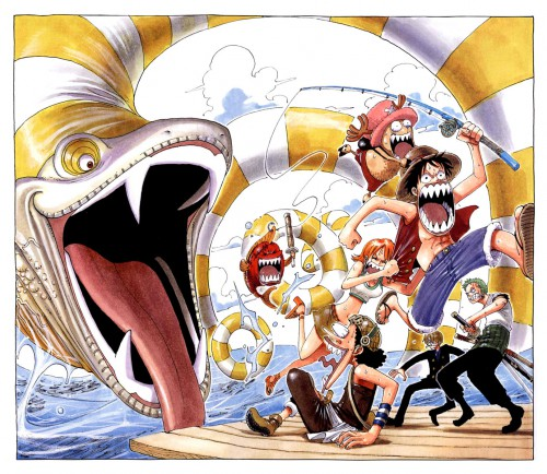 Eiichiro Oda, Toei Animation, One Piece, Color Walk 3 - Lion, Sanji