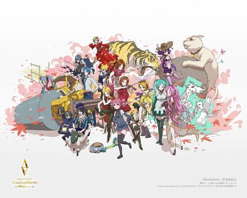 Vocaloid, Rin Kagamine, Len Kagamine, Meiko, Kaito