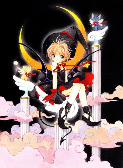 CLAMP, Cardcaptor Sakura, Cardcaptor Sakura Illustrations Collection 2, Sakura Kinomoto, Spinel Sun