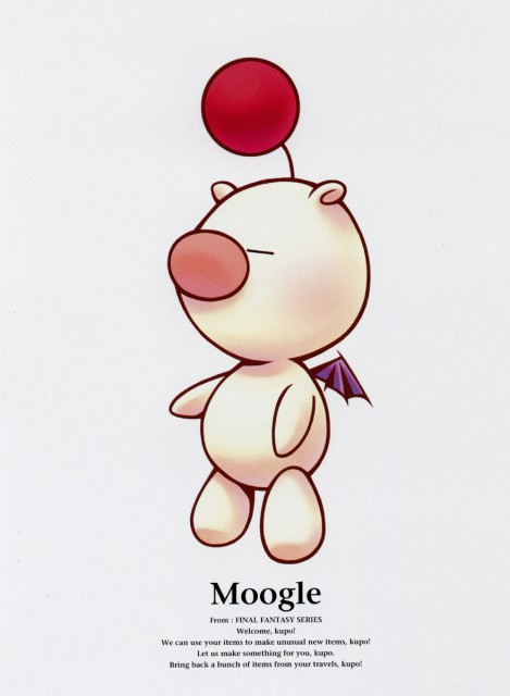 Square Enix, Kingdom Hearts, Moogle