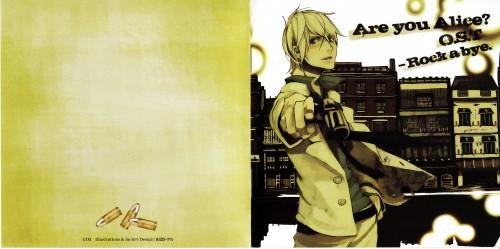 Tohru Tagura, Are You Alice, Alice (Are You Alice), Album Cover