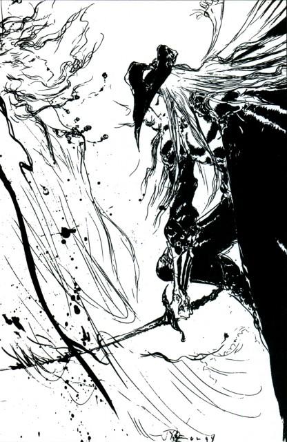 Yoshitaka Amano, Vampire Hunter D, D (Vampire Hunter D)