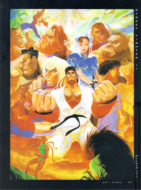Capcom, Fight - Artbook IV, Street Fighter, Sagat, Ryu