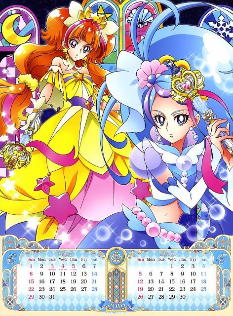 Yukiko Nakatani, Toei Animation, Go! Princess Precure, Go! Princess Precure 2016 Calendar, Cure Twinkle
