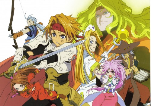 Namco, Tales of Phantasia - Art Graphy, Tales of Phantasia, Suzu Fujibayashi, Chester Barklight