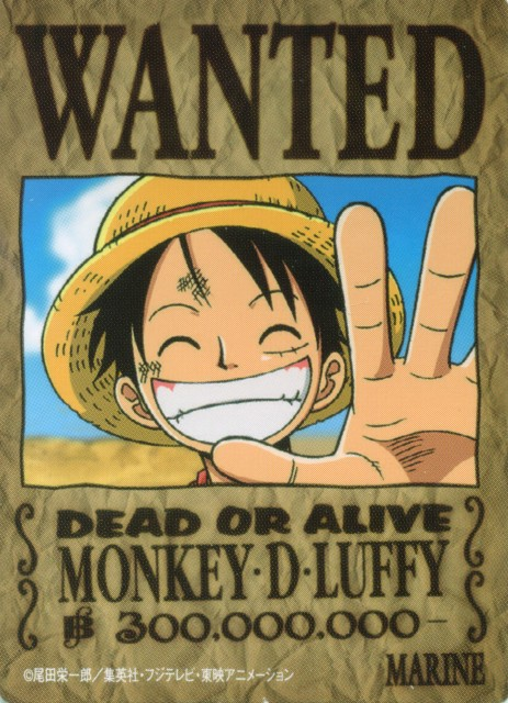 Eiichiro Oda, One Piece, Monkey D. Luffy