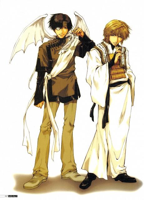 Kazuya Minekura, Studio Pierrot, Saiyuki, Salty Dog III, Genjyo Sanzo
